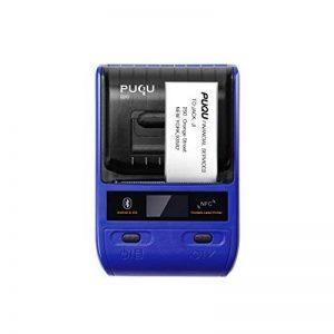 PUQU-LABEL Puqu Bluetooth imprimante d'étiquettes, Portable sans Fil Thermique Étiqueteuse Q20avec Batterie Rechargeable, Super Léger et Impression HD pour Android et iOS Système Compatible–Bleu de la marque PUQU-LABEL image 0 produit