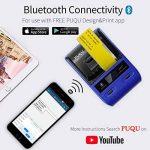PUQU-LABEL Puqu Bluetooth imprimante d'étiquettes, Portable sans Fil Thermique Étiqueteuse Q20avec Batterie Rechargeable, Super Léger et Impression HD pour Android et iOS Système Compatible–Bleu de la marque PUQU-LABEL image 2 produit