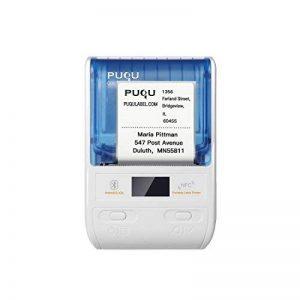 PUQU-LABEL Puqu imprimante d'étiquettes sans Fil, Bluetooth Portable Thermique Étiqueteuse Q00avec Batterie Rechargeable, Format de Poche et Impression HD pour Android et iOS Système de la marque PUQU-LABEL image 0 produit