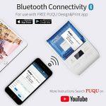 PUQU-LABEL Puqu imprimante d'étiquettes sans Fil, Bluetooth Portable Thermique Étiqueteuse Q00avec Batterie Rechargeable, Format de Poche et Impression HD pour Android et iOS Système de la marque PUQU-LABEL image 2 produit