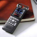 Purebesi Enregistreur Vocal 8 Go Dictaphone Numérique Réduction du Bruit Enregistrement Vocal Support HiFi Mp3 Lecture de la qualité sonore HiFi de la marque Purebesi image 4 produit