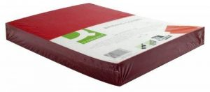 Q Connect Lot de 100 couvertures pour reliure effet cuir Rouge A4 de la marque Q-Connect image 0 produit
