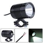 Qiilu 30W U3 LED Phares Feux Anti-brouillard Spot Projecteur Feu Ampoule Lampe 1200LM 12-60V (Noir) de la marque Qiilu image 2 produit