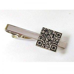 QR code barre de pince à cravate Fermoir Technologie Scan réponse rapide de la marque ProCuffs image 0 produit