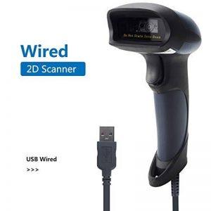 QR Lecteur Code Barre NETUM 2D/1D Barcode Scanner douchette USB CCD filaire Imager avec câble USB pour PC et Mac avec USB port NT-M5 de la marque NETUM image 0 produit