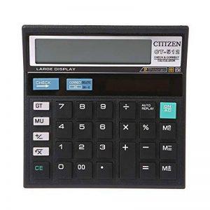 Qztg Calculatrices Calculatrice De Bureau Ct-512 De 1 Pc À 12 Chiffres Pour Batterie Solaire Double Puissance de la marque QZTG Calculatrices image 0 produit