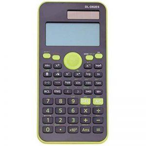 Qztg Calculatrices Calculatrice Scientifique Double Puissance Solaire + Alimentation De La Batterie 12 Numérique Lcd 2 Lignes, Z de la marque QZTG Calculatrices image 0 produit