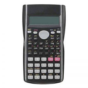 Qztg Calculatrices Calculatrice Scientifique Portative Précise D'Affichage De Ligne De 2 Lignes MultifonctionnellesPour L'Enseignement De Mathématiques de la marque QZTG Calculatrices image 0 produit
