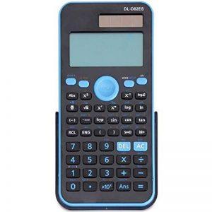 Qztg Calculatrices Double Puissance Calculatrice Scientifique Solaire + Alimentation De La Batterie 12 Numérique 2 Ligne Lcd Affichage, S de la marque QZTG Calculatrices image 0 produit