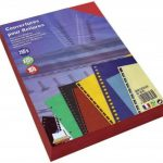 Rainex 565 RG 100 Couvertures A4 250 g Rouge de la marque Rainex image 1 produit