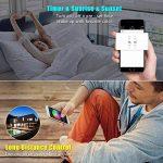 Récepteur Bluetooth, ALED LIGHT Contrôleur Bluetooth + Télécommande IR 24 Touches, pour Ruban LED Bande RGB Contrôlé par APP Smartphone IOS/Android ou Contrôlée par Télécommande IR de la marque ALED LIGHT image 4 produit