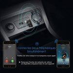 Récepteur Bluetooth et Localisateur de Voiture 2 En 1, Mpow Récepteur Bluetooth 4.1 Kit de Voiture Adaptateur Audio sans Fil Kits Mains Libres Transmetteur De Musique Sans Fil Pour Système Stéréo de Mainson / Voiture de la marque Mpow image 4 produit