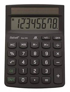 Rebel Calculatrice de bureau 8 chiffres Noir de la marque Rebel image 0 produit