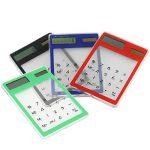 Refaxi Calculatrice Calculette Bureau Solaire Pavé Tactile 8 Chiffres Ultra Mince de la marque ReFaXi image 1 produit