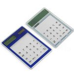 Refaxi Calculatrice Calculette Bureau Solaire Pavé Tactile 8 Chiffres Ultra Mince de la marque ReFaXi image 3 produit