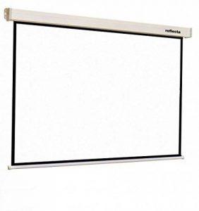 Reflecta CrystalLine Motor 1:1 Noir, Blanc écran de projection - Écrans de projection (3 m, 3 m, 1:1, Noir, Blanc) de la marque Reflecta image 0 produit
