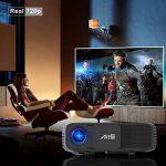 Retroprojecteur HD, Artlii Video projecteur 1280x800p 3D - Projecteurs LED Relier Ordinateur Portable PC iPhone Smartphone pour Jeux Video Films de la marque image 1 produit