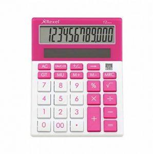 Rexel Joy Calculatrice de bureau Rose Bonbon de la marque Rexel image 0 produit