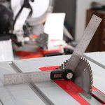 Règle Numérique 400 mm Tacklife MDA01 Classique en Acier Inoxydable /Règle d'Angle /Mesure de Longueur et d'Angle /Système Métrique et Impérial /Ecran LCD de la marque Tacklife image 4 produit