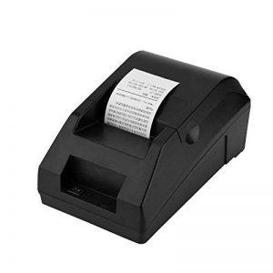Richer-R Imprimante thermique, Bill imprimante thermique caisse enregistreuse ordre USB Bluetooth Support Android et IOS pour les restaurants, supermarchés, centres commerciaux (Noir) de la marque Richer-R image 0 produit