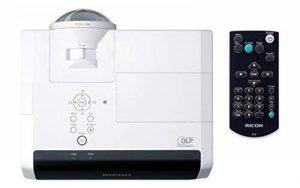 """Ricoh PJ X4241N Projecteur de bureau 3300ANSI lumens DLP XGA (1024x768) Noir, Blanc vidéo-projecteur - Vidéo-projecteurs (3300 ANSI lumens, DLP, XGA (1024x768), 13000:1, 4:3, 1270 - 10160 mm (50 - 400"""")) de la marque Ricoh image 0 produit"""