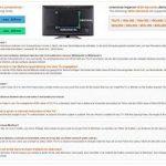 RICOO Meuble TV Design FS303W Support sur pied en verre suspension LED LCD Plasma QE OLED 3D 4K Smart socle de tele écran suspendu original téléviseurs rack VESA 400x400 universel hauteur réglable de la marque RICOO image 4 produit