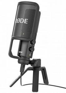 Rode NT-USB Microphone Noir de la marque Rode Microphones image 0 produit