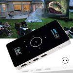 Rokoo Mini projecteur 4K HD 1080P avec des projecteurs futés de DLP de Bluetooth Wifi Android 5.1 de la marque Rokoo image 1 produit