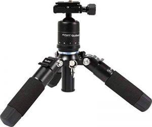 Rollei Compact Traveler Mini M1 - Trépied de Table - Capacité max.: 8 kg - Avec Rotule et Sac de Trépied - Noir de la marque Rollei image 0 produit