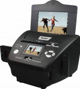 Rollei PDF-S 240 SE - Scanner 5.1 méga pixels pour diapos, négatifs et photos, incl. logiciel de retouche photo - Noir de la marque Rollei image 0 produit