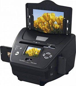 """Rollei PDF-S 250 - Scanners pour diapos, Négatifs et Photos 5.1 Mégapixels, 6,0 cm (2,4"""") Écran Couleur LTPS LCD - Noir de la marque Rollei image 0 produit"""