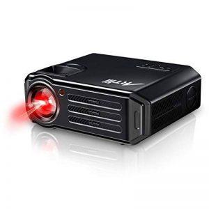 Rétroprojecteur HD, Artlii Vidéoprojecteur LED, Compatible 1080p 3D pour iPhone, Smartphones Android, PC, Ordinateurs Portables pour Films et Jeux Vidéo de la marque Artlii image 0 produit