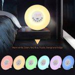 Réveil lumineux, Diyife® Réveil, réveil Sunrise Simulation Veilleuse crépusculaire avec lumière naturelle, radio FM, commande tactile et chargeur USB de la marque Diyife image 3 produit
