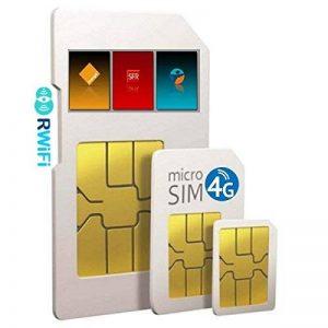 RWiFi Carte Sim SFR avec Abonnement pour Routeur 4G+ Data 1000 Go/Mois Forfait en France métropolitaine de la marque RWiFi image 0 produit