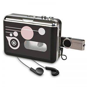 Rybozen Lecteur de Cassette Autonome Audio numérique USB Musique/Cassette vers MP3 Converter avec OTG Enregistrer sur Clé USB/Pas de PC requis de la marque Rybozen image 0 produit