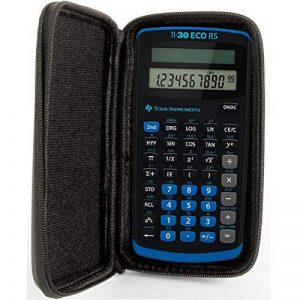 SafeCase Étui de protection pour calculatrice TI 30 ECO RS de la marque SafeCase image 0 produit