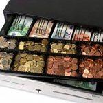 Safescan Tiroir-caisse électrique 8 compartiments monnaie et 5 à billets L46 x H11,5 x P46,5 cm Noir de la marque Safescan image 4 produit