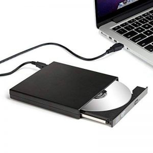 Salcar Lecteur de DVD Combo CD-RW Externe USB 2.0 Portable Slim DVD Read CD Write Notebook pour Windows 2000/XP/Vista/Linux/7/8/10 & Mac OS pour Apple iMac Dell Acer ASUS etc. Noir de la marque Salcar image 0 produit