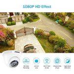 SANNCE 8ch 1080P AHD Système de Vidéo Surveillance CCTV DVR Haute Résolution, Caméra de Sécurité Accès à Distance QR Code Scan avec Surveillance Disque Dur de 1TB de la marque SANNCE image 3 produit