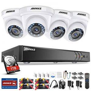 SANNCE 8ch 1080P AHD Système de Vidéo Surveillance CCTV DVR Haute Résolution, Caméra de Sécurité Accès à Distance QR Code Scan avec Surveillance Disque Dur de 1TB de la marque SANNCE image 0 produit