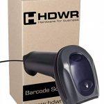 Sans fil Bluetooth lecteur de codes-barres scanner de codes-barres moteur laser, 1D, Windows, Linux, Android, mémoire intégrée, poste Bluetooth, HD73 de la marque HDWR image 1 produit