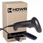 Sans fil scanner de codes-barres facile à utiliser Anti-ingérence, 32-bit Decoder, mémoire intégrée, HD67A de la marque HDWR image 2 produit