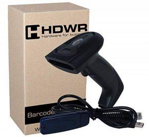 Sans fil scanner de codes-barres manuel lecteur de codes-barres Anti-ingérence, 32-bit Decoder, mémoire intégrée, HD19 de la marque HDWR image 0 produit