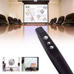 Sans fil USB PPT Presenter PowerPoint Télécommande Présentation Pointer avec pointeur laser rouge. de la marque Q4Tech image 1 produit