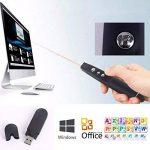 Sans fil USB PPT Presenter PowerPoint Télécommande Présentation Pointer avec pointeur laser rouge. de la marque Q4Tech image 4 produit