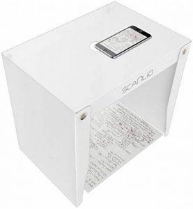 scanlio Scan Stand, numérisation avec smartphone ou tablette, trépied pour téléphones portables Mobiles, günstiger Document Scanner de la marque SCANLIO image 0 produit