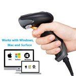 Scanner de Code-barres, Bluehresy 2D QR 1D Lecteur de Codes à Barres USB filaire Écran et papier imprimé Lecteur de Codes à Barres Haute Vitesse Barcode Scanner pour POS Windows Mac Linux PC de la marque Bluehresy image 3 produit