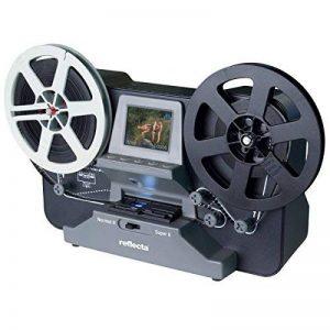 SCANNER DE PELLICULE 8MM ET SUPER 8 A LOUER POUR 1 SEMAINE, scanner Reflecta super 8 et 8mm à louer, taille max : 12,7cm, livraison et retour gratuits de la marque Scanexperte image 0 produit