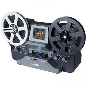 Scanner de pellicule super 8 et 8mm, Reflecta scanner de films super 8 et 8mm avec carte mémoire SD 32 GO, taille max. de la bobine 12,7cm de la marque Scanexperte image 0 produit
