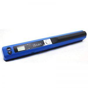 scanner portable document de format A4 scanner 900 DPI scanner à main haute vitesse (bleu) de la marque MGbeauty image 0 produit